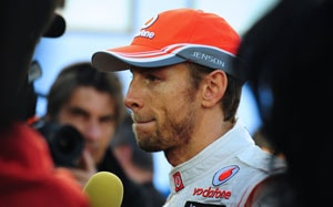 F1 2013: Jenson Button sets pace on first day of tests