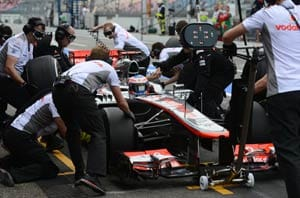 Jenson Button fastest in opening German practice