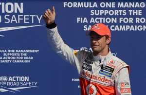 Belgian Grand Prix: Jenson Button on pole for the race