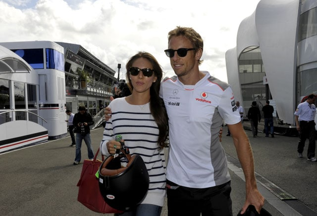 Jenson Button and model girlfriend Jessica Michibata confirm engagement