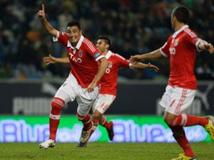 Cardozo nets 3 to give Benfica win over Maritimo