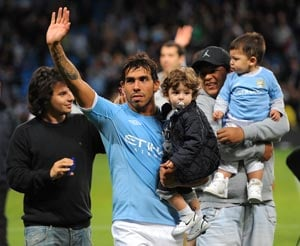 It's official: Manchester City let go of Tevez