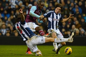 Woodwork wins out as West Ham United hold West Bromwich Albion