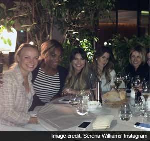 Caroline Wozniacki Parties With 'Bridesmaid' Serena Williams