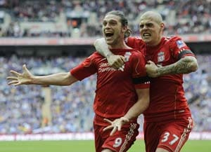 Delighted Andy Carroll basks in Wembley glory