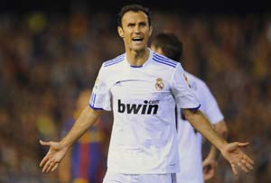 No clasico for Real Madrid's Carvalho