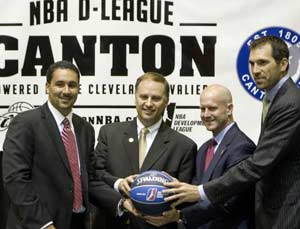 Cavaliers to operate D-League team