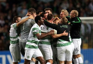 Celtic join big guns in UEFA Champions League group stage