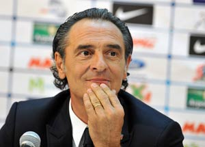 Italy will be an attacking side in World Cup, says Cesare Prandelli