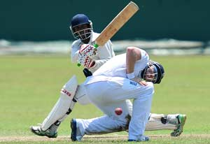 Chamara Silva punishes England to stake claim in Test squad
