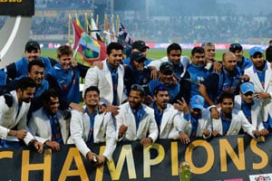 ICC Champions Trophy victory: Indian cricket's high point in 2013, the year of controversy and Sachin's retirement