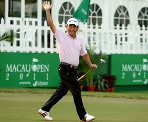 Chan hopes to carry hot putting to Japan