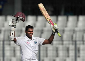 Bangladesh struggle after Shivnarine Chanderpaul's double ton