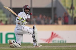 Chris Gayle fails, Shivnarine Chanderpaul shines for West Indies vs Uttar Pradesh in warm-up