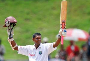 Chanderpaul takes fifth spot in Test rankings