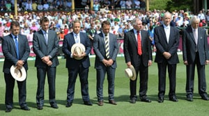 Australia, Sri Lanka pay tribute to Tony Greig