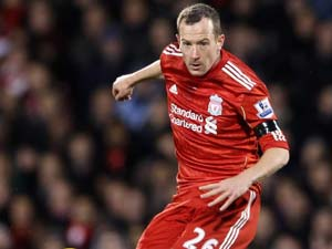 Liverpool midfielder Charlie Adam out for rest of season