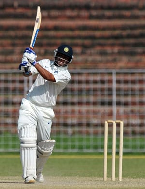 While Gautam Gambhir struggles, Piyush Chawla enjoys his County stint with a ton and three-for