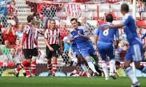 Chelsea seal 2-1 win against Sunderland