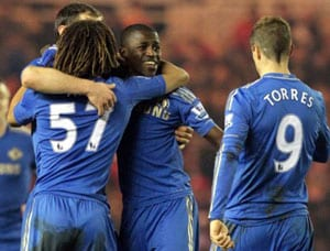 Chelsea sink Middlesbrough to set up FA Cup quarter-final against Man United