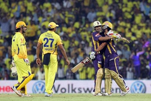 IPL 5: Chennai vs Kolkata statistical highlights