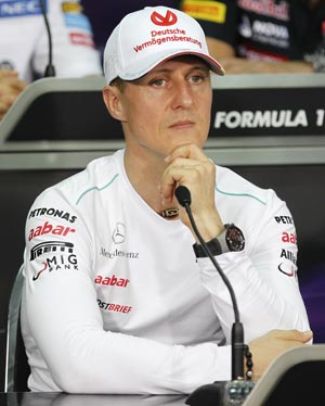 Schumacher has high hopes for Malaysian Grand Prix