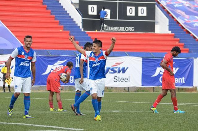 I-League: Sunil Chhetri stars in Bengaluru FC's 3-0 win over Churchill Brothers
