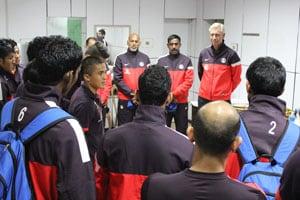 Sunil Chhetri thanks Bhaichung Bhutia for guiding him in early years