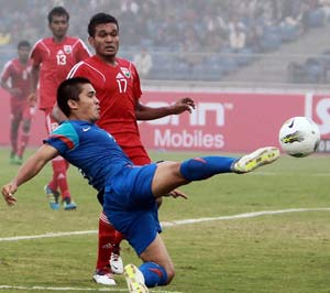 SAFF Championship: India edge Pakistan 1-0 in opener
