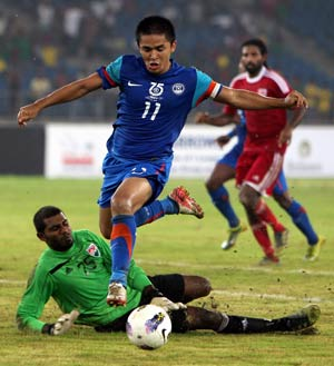 Nehru Cup: India slaughter Maldives 3-0