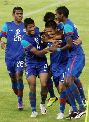 Nehru Cup: India beat Syria 2-1 in opener