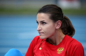 After Yelena Isinbayeva, Russia's Anna Chicherova aiming to upstage Usain Bolt