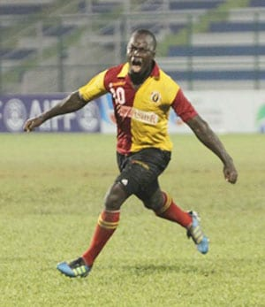 Edeh Chidi hat-trick guides East Bengal in to AFC Cup quarter-final