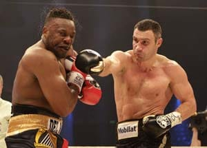 Dereck Chisora arrested after David Haye brawl