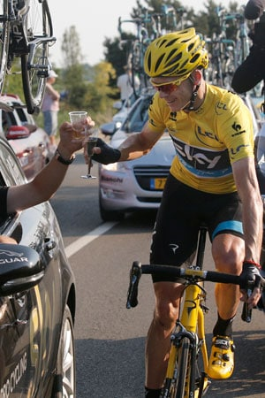 Britain's Chris Froome wins 100th edition of Tour de France