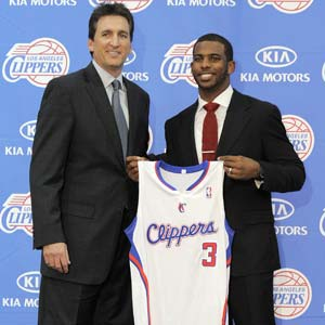 Clippers welcome Chris Paul to LA