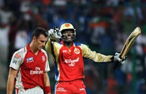 Chris Gayle is the man to watch as Bangalore take on Punjab