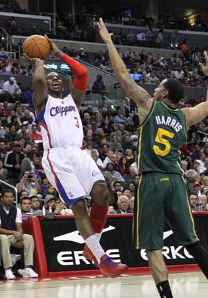NBA: Indiana Pacers beat Los Angeles Clippers 105-100
