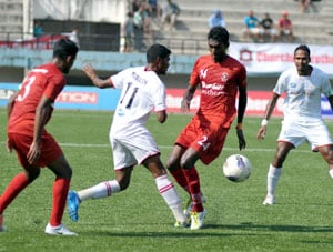 Churchill Brothers go top of I-League table after demolishing Air India