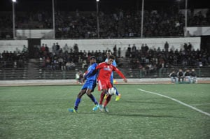 Churchill Brothers FC hold Shillong Lajong FC in I-League