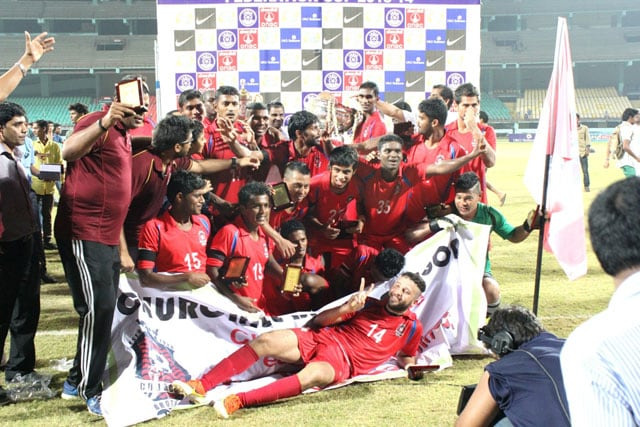 Churchill Brothers beat Sporting Clube de Goa 3-1 to win maiden Federation Cup title