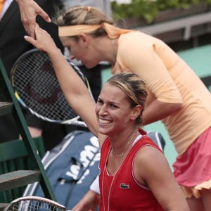 Cibulkova downs top seed Azarenka at French Open