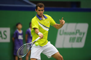 Cilic, Querrey advance to 2nd round in Shanghai