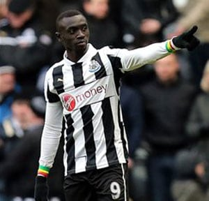 Papiss Cisse gives Newcastle United 2-1 win over Stoke City in EPL