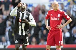 Cisse double adds to Liverpool's league woes