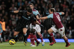 Hammers draw frustrates Manchester City