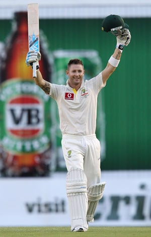 Michael Clarke in race to be fit for 2nd Test