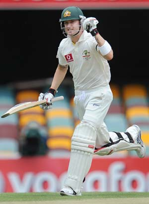 Australia take charge through Clarke and Haddin
