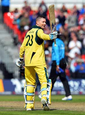 Australia skipper Michael Clarke glad to return to winning ways