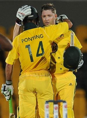 Ponting steers Australia to eight-wicket win